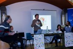 """Novembre 2014: presentazione di """"Abbracci"""" con lo scrittore Antonio Ferrara"""
