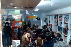 Gennaio 2014. Laboratorio per bambini, Libreria La Pecora Nera, Udine