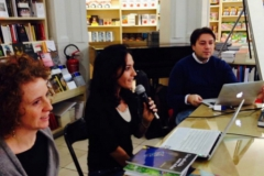 "Febbraio 2014. Presentazione ""Una Splendida Notte Stellata"", Feltrinelli di Firenze."